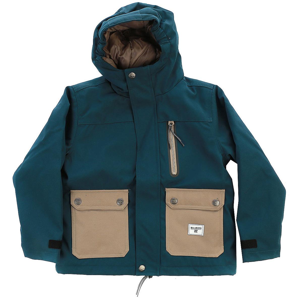 Sale ALVES BOYКуртки городские<br>Сосредоточившись на самом главном, бренд Billabong создал эту куртку со стильным дизайном и набором продуманных функций. Осенняя куртка с капюшоном и стеганной подкладкой дополнительно оснащена карманом с водонепроницаемой молнией, чтобы Вы не переживали за сохранность их содержимого. Ваш ребенок будет в восторге, впрочем, как и Вы.<br> <br> <br> Особенности:<br><br>Детская городская куртка<br>Размерная сетка от 8 до 16 лет<br>Классическая посадка<br>Утеплитель: 120 г тело, 100 г рукава<br>Подкладка из тафты<br>Карман на груди с водонепроницаемой молнией<br>Два кармана с клапанами спереди<br>Регулируемые манжеты на рукавах<br>Состав: 100% полиэстер.<br><br>Сезон: FW17<br>Артикул: 51201<br>Цвет: DEEP SEA<br>Пол: МАЛ<br>Пол: Мальчикам, Детское<br>Размер: 14<br>Тип вещи: КУРТКА ГОРОДСКАЯ