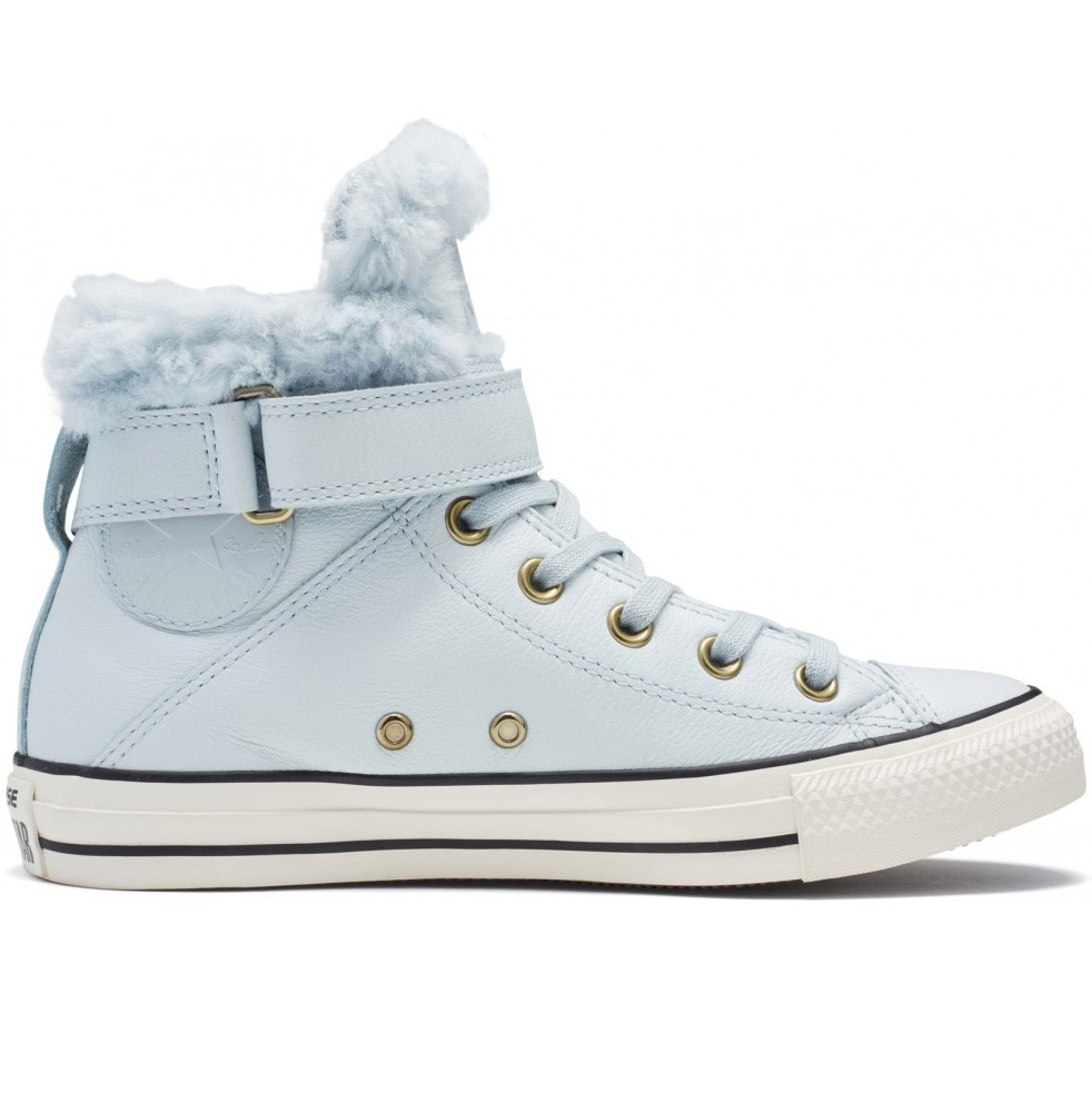 Кеды CONVERSE Chuck Taylor All Star Brea Leather + Fur FW17 купить в Москве,  Санкт-Петербурге. Кеды CONVERSE Chuck Taylor All Star Brea Leather + Fur  FW17 ... 183ae303059