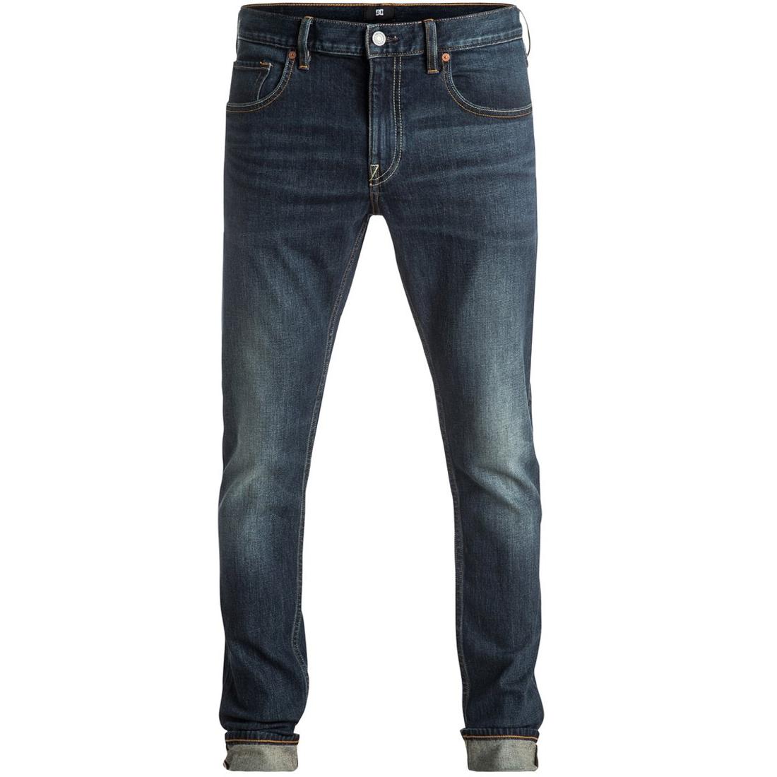 New SKINNY WASHED M PANTДжинсы и Брюки<br>Мужские джинсы от DC, эластичный материал которых не стеснят движений, а крой скинни обеспечит отличную посадку. Практичный вариант для повседневной носки, который будет удачно сочетаться с любым гардеробом.  <br> <br> <br> Особенности: <br><br>Эластичный деним <br><br>Средняя плотность <br><br>Узкий крой скинни <br><br>5-карманный дизайн <br><br>Петли для ремня <br><br>Ширинка на молнии <br><br>Полиуретановая нашивка с логотипом DC на поясе сзади <br><br>Фирменный ярлычок на заднем кармане <br><br>Состав: 99% хлопок, 1% эластан.<br><br>Сезон: SS17<br>Артикул: 66712<br>Цвет: MEDIUM STONE<br>Пол: МУЖ<br>Пол: Мужcкое<br>Размер: 28<br>Тип вещи: ДЖИНСЫ