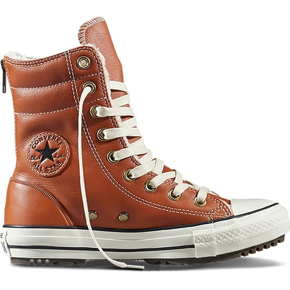 Кеды CONVERSE Chuck Taylor All Star Hi-Rise Boot Leather + Fur FW17 купить  в Москве, Санкт-Петербурге. Кеды CONVERSE Chuck Taylor All Star Hi-Rise  Boot ... 815baaf7f09