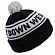 Шапка HOLDEN Teamster Beanie BLACK/WHITE