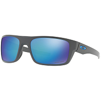 Oakley DROP POINT MATTE DARK GRAY/PRIZM SAPPHIRE POLARIZED