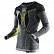 Термо-кофта X-BIONIC APANI MERINO BY X-BIONIC MAN UW SHIRT LG SL ROUNDN black/grey/yellow