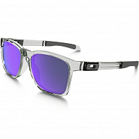 Oakley CATALYST POLISHED CLEAR/VIOLET IRIDIUM
