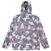 RIPNDIP NERM PSYCHO CLEAR RAIN COAT RED CAMO