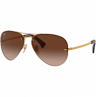 Ray Ban RB3449 BROWN/BROWN GRADIENT