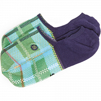 Stance CHINA PLAID NVY