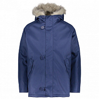 Makia ORIGINAL RAGLAN PARKA BLUE
