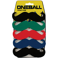 ONEBALL TRACTION - 6 PK MUSTACHE FW17 ASSORTED