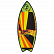 Вейксерф RONIX SUPER SONIC SPACE ODYSSEY - POWERTAIL Classic Fish - Orange/Yellow/Green