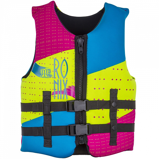 Жилет водный RONIX AUGUST GIRL'S - CGA LIFE VEST YOUTH SS17 от Ronix в интернет магазине www.traektoria.ru -  фото