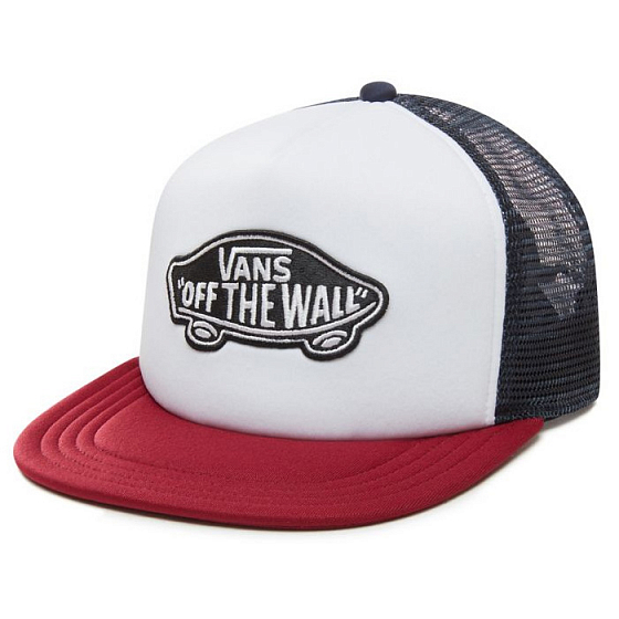 Кепка VANS CLASSIC PATCH TRUCKER SS19 от Vans в интернет магазине www.traektoria.ru -  фото