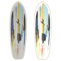 YOW TEAHUPOO POWER SURFING SERIES DECK ASSORTED