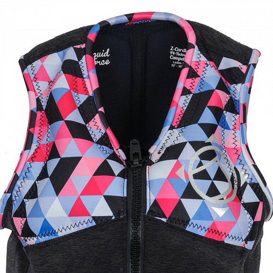 Жилет водный LIQUID FORCE Z-CARDIGAN WM COMP SS17 от Liquid Force в интернет магазине www.traektoria.ru - 11 фото