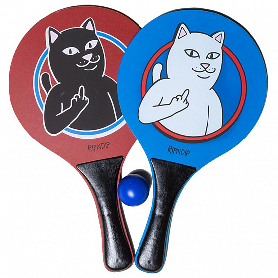 Аксессуар RIPNDIP PADDLE UP PADDLE BALL SET SS19 от RIPNDIP в интернет магазине www.traektoria.ru - 1 фото