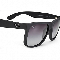 Ray Ban JUSTIN RUBBER BLACK/GREY GRADIENT