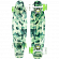 КОМПЛЕКТ СКЕЙТБОРД SUNSET SKATEBOARDS CAMO COMPLETE 27 GREEN CAMO DECK-WHITE/GREEN WHEELS