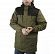 Куртка городская FOOTWORK URBAN FISHTAIL PARKA Army Green