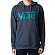 Толстовка VANS VANS CLASSIC PULLOVER HOODIE DRESS BLUES HEATHER-QUETZAL