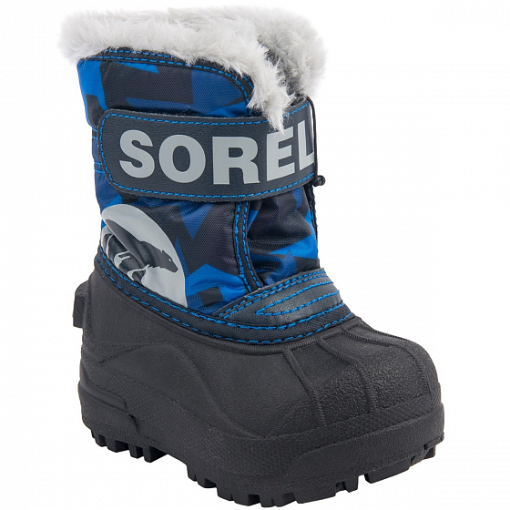 Сапоги SOREL TODDLER SNOW COMMANDER PRINT FW18 от SOREL в интернет магазине www.traektoria.ru - 10 фото