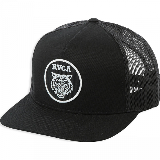 Кепка RVCA TIGER PATCH TRUCKER SS19 от RVCA в интернет магазине www.traektoria.ru - 1 фото