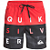 Бордшорты QUIKSILVER WORDBLOCKVL17 M JAMV HIGH RISK RED