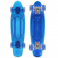 SUNSET SKATEBOARDS WAVE COMPLETE 22 SS15 BLUE DECK - BLUE WHEELS