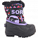 Сапоги SOREL TODDLER SNOW COMMANDER PRINT Black, Paisley Purple