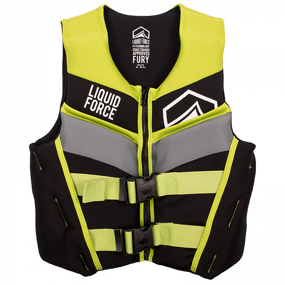 Жилет водный LIQUID FORCE FURY INFANT CGA SS19 от Liquid Force в интернет магазине www.traektoria.ru - 1 фото