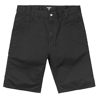 Carhartt WIP RUCK SINGLE KNEE SHORT BLACK (STONE WASHED)