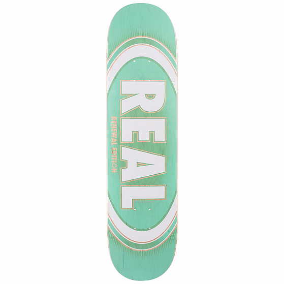 Дека скейтборд REAL SKATEBOARDS RL BRD OVAL BURST FADE PP SS19 от Real Skateboards в интернет магазине www.traektoria.ru - 1 фото
