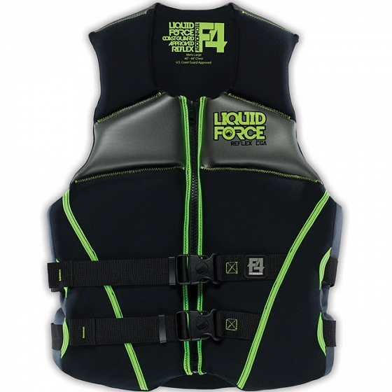 Жилет водный LIQUID FORCE REFLEX CGA SS15 от Liquid Force в интернет магазине www.traektoria.ru - 2 фото