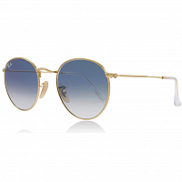 Ray Ban ROUND METAL ARISTA/CRYSTAL WHITE GRAD. BLUE