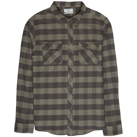 Рубашка BILLABONG ALL DAY FLANNEL LS S FW19 от Billabong в интернет магазине www.b20.traektoria.ru - 1 фото