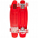 КОМПЛЕКТ СКЕЙТБОРД SUNSET SKATEBOARDS LIFEGUARD COMPLETE 22 RED DECK - RED WHEELS