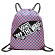 Сумка VANS BENCHED BAG BLUE SAPPHIRE-STRAWBERRY PINK CHECKERBOARD
