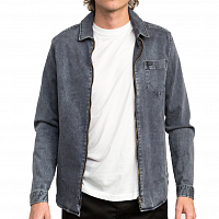 RVCA DO RIGHT SHIRT JACKE RVCA BLACK