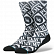 Носки STANCE ANTHEM PUBLIC ENEMY BLACK