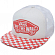 Кепка VANS BEACH GIRL TRUCKER HAT SPICED CORAL CHECKERBOARD