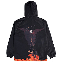 RIPNDIP HELL PIT HOODED COACH JACKET BLACK