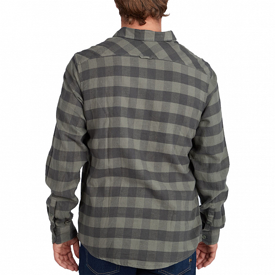 Рубашка BILLABONG ALL DAY FLANNEL LS S FW19 от Billabong в интернет магазине www.b20.traektoria.ru - 3 фото