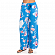 Брюки RIP CURL INFUSION FLOWER PANTS BRILLIANT BLUE