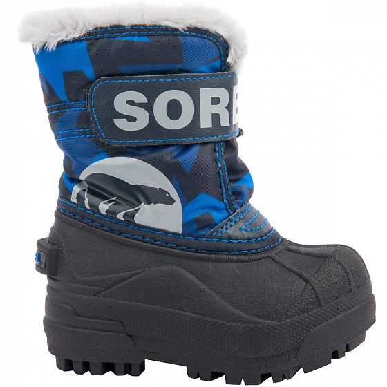 Сапоги SOREL TODDLER SNOW COMMANDER PRINT FW18 от SOREL в интернет магазине www.traektoria.ru - 9 фото