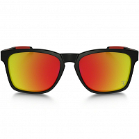 Oakley CATALYST MATTE BLACK/RUBY IRIDIUM