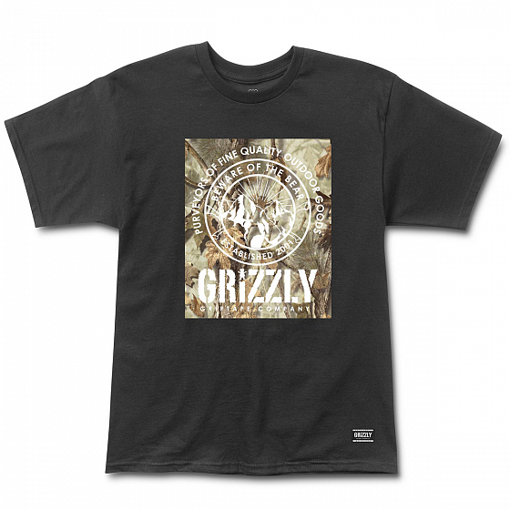 Футболка GRIZZLY TERRIAN S/S TEE SS19 от Grizzly в интернет магазине www.traektoria.ru - 1 фото