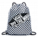 Сумка VANS BENCHED BAG BLACK-WHITE CHECKERBOARD