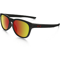 Oakley STRINGER MATTE BLACK/RUBY IRIDIUM