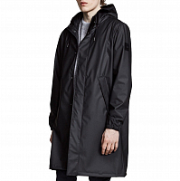 Makia LONGITUDE RAIN JACKET BLACK
