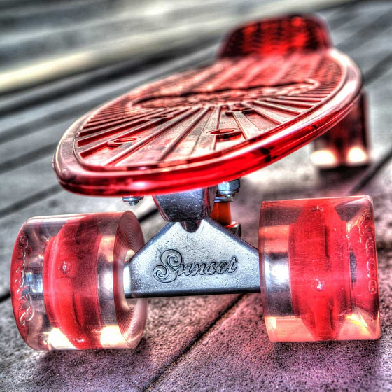 КОМПЛЕКТ СКЕЙТБОРД SUNSET SKATEBOARDS LIFEGUARD COMPLETE 22 SS15 от SUNSET SKATEBOARDS в интернет магазине www.traektoria.ru - 5 фото
