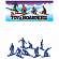 Игрушка TOY BOARDERS SNOW 1 BLUE